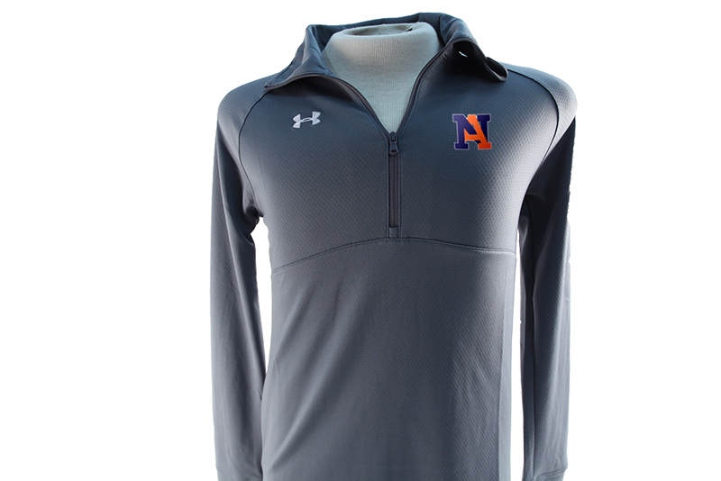 UA Team Scout II 1/2 Zip Grey- Women's