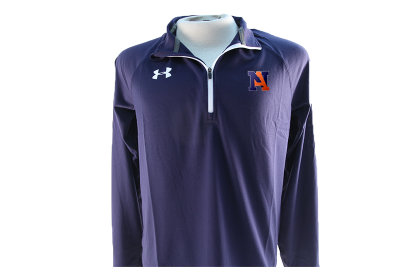 UA Team Rival Tech 1/4 Zip Navy - Men's