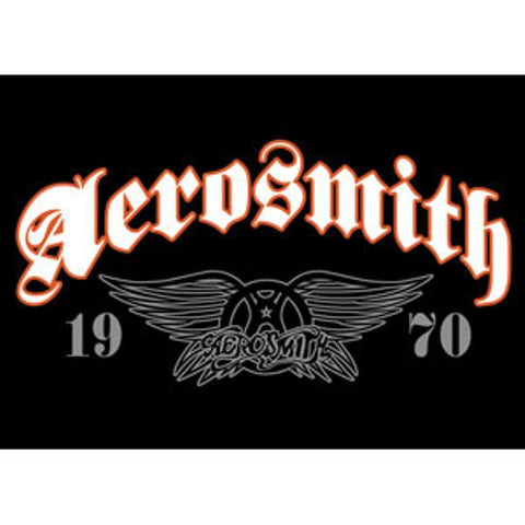 Aerosmith Magnet 1970 Wings Logo