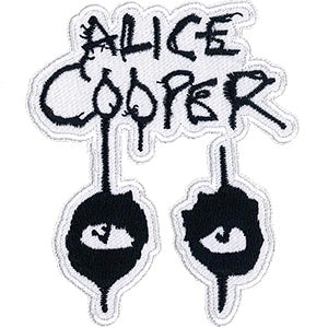 Alice Cooper Iron-On Patch Eyes Logo