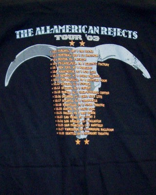 All-American Rejects T-Shirt Truck Logo Black Size Small ...