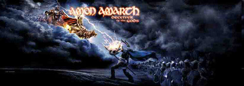 Amon Amarth Fabric Door Poster Deceiver Of The Gods