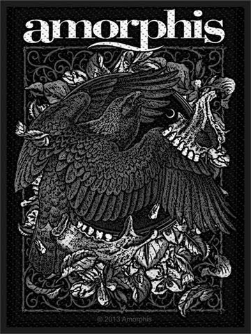 Amorphis Sew On Patch Bird Logo