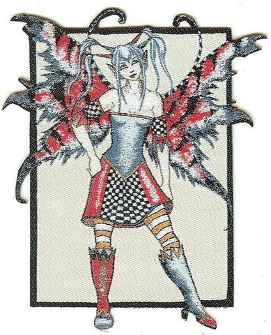 Amy Brown Iron-On Patch Fracas Fairy