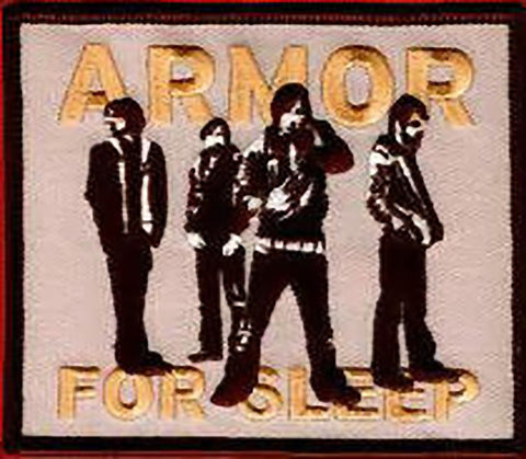 Armor For Sleep Iron-On Patch Group Logo