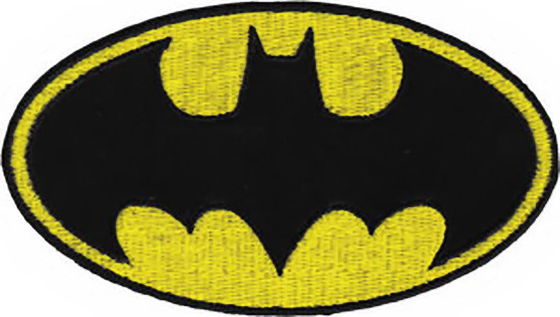 Batman Iron-On Patch Bat Logo