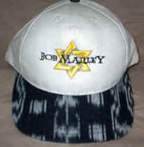 Bob Marley Hat Tribal Star Logo One Size Fits All