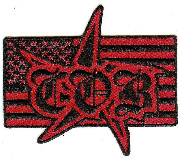 Children Of Bodom Iron-On Patch COB Flag Logo