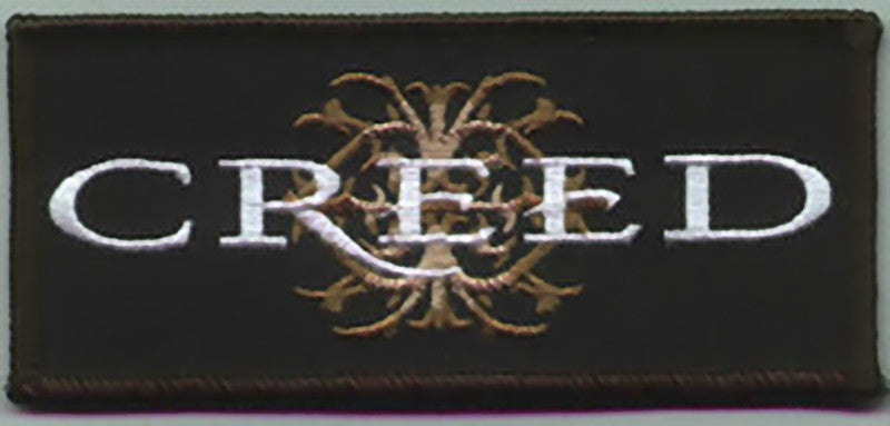 Creed Iron-On Patch Crest Letters Logo