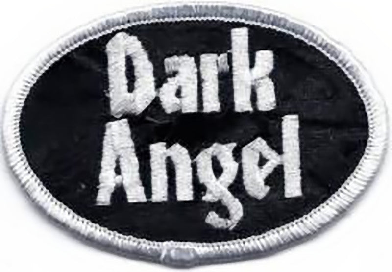 Dark Angel Iron-On Patch Oval Letters Logo