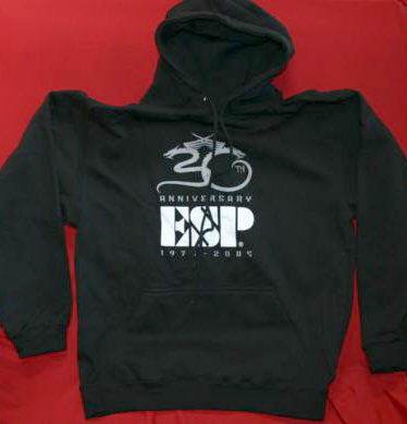 ESP Guitars Hoodie Sweatshirt 30th Anniversary Black Size Small