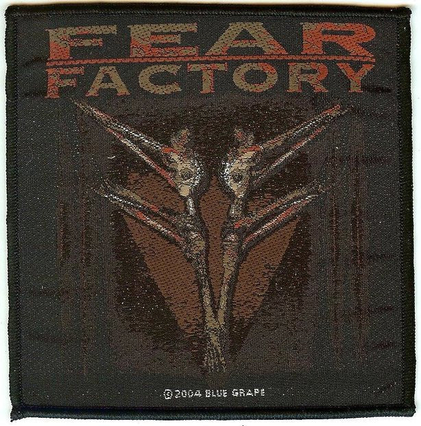 Fear Factory Sew On Patch Archetype Logo