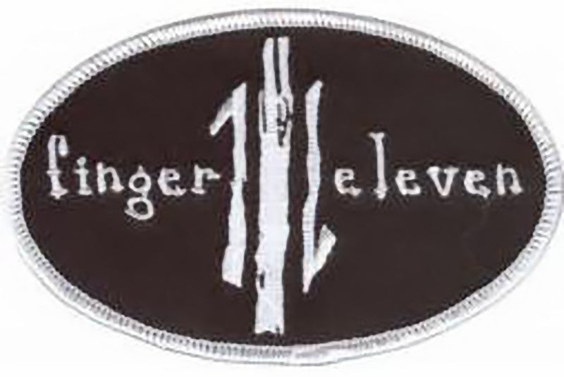 Finger Eleven Iron-On Patch Oval Logo