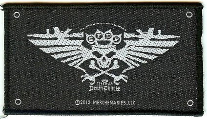 Five Finger Death Punch Sew On Patch Wings Of War Logo