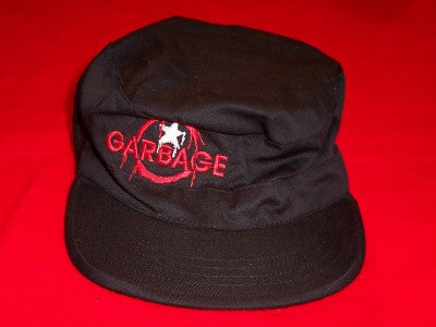 Garbage Combat Hat Star Logo Black Size Large
