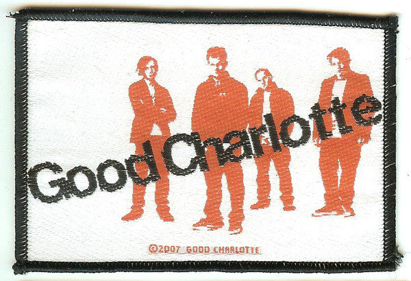 Good Charlotte Sew On Patch Group Logo
