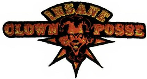 Insane Clown Posse Iron-On Patch Jester Logo
