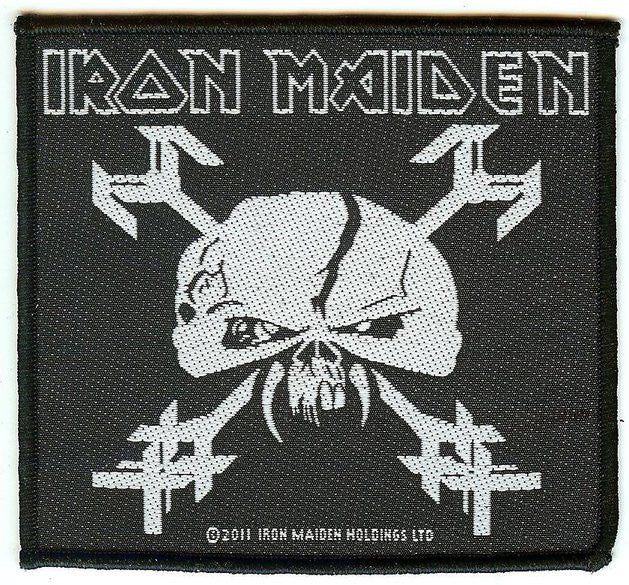 Iron Maiden Sew On Patch The Final Frontier Skull Logo
