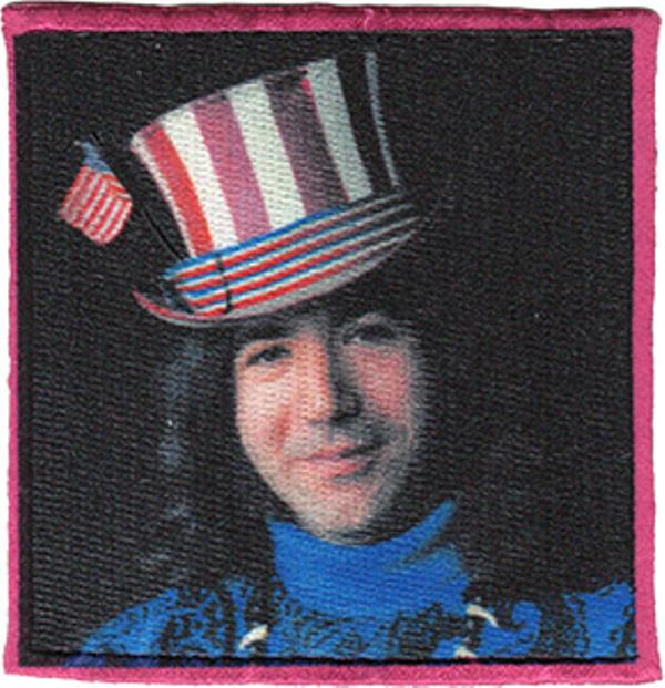 Jerry Garcia Iron-On Patch Captain Trips