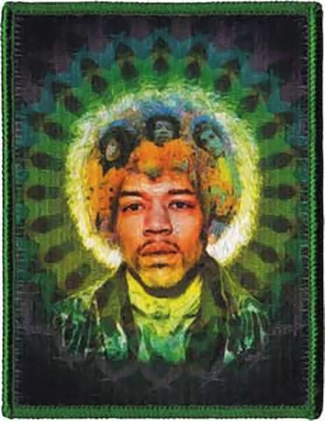 Jimi Hendrix Iron-On Patch Mastermind