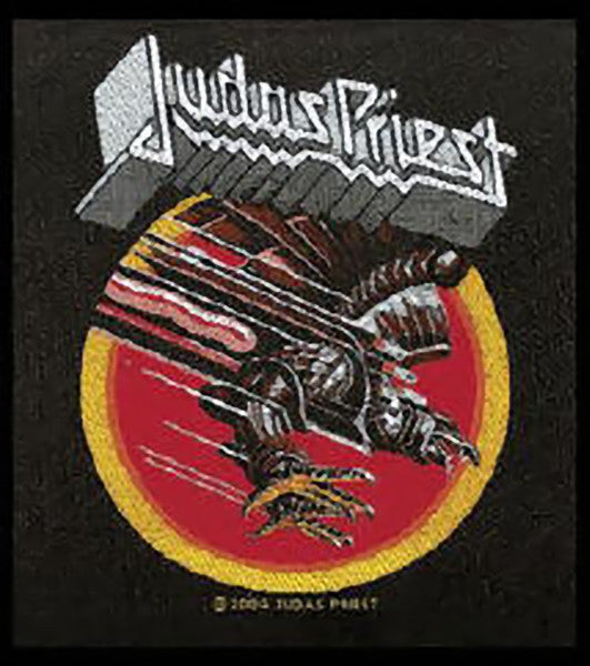 Judas Priest Sew On Patch Screaming For Vengeance Logo