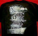 Korn Long Sleeve T-Shirt Cell Out Black Size XL
