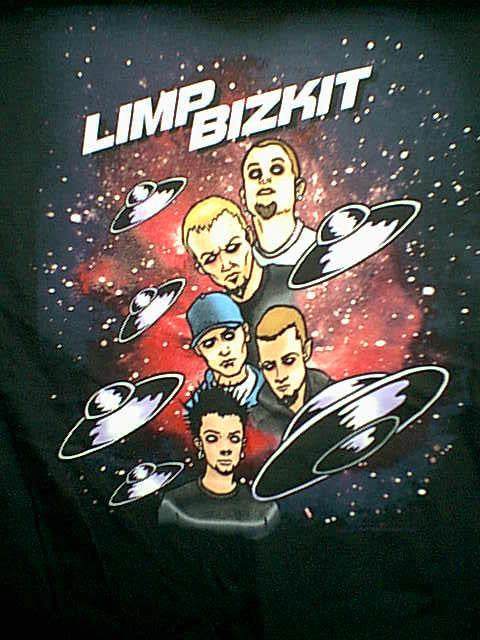 Limp Bizkit T-Shirt Spacey Black Size XL