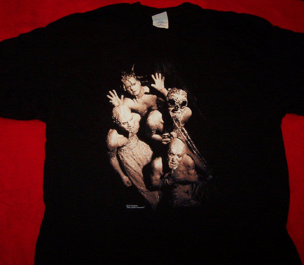 Mudvayne T-Shirt Primal Muddy Group Black Size XL New