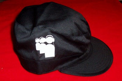 MySpace Van's Warped Tour Combat Hat Black Size Medium