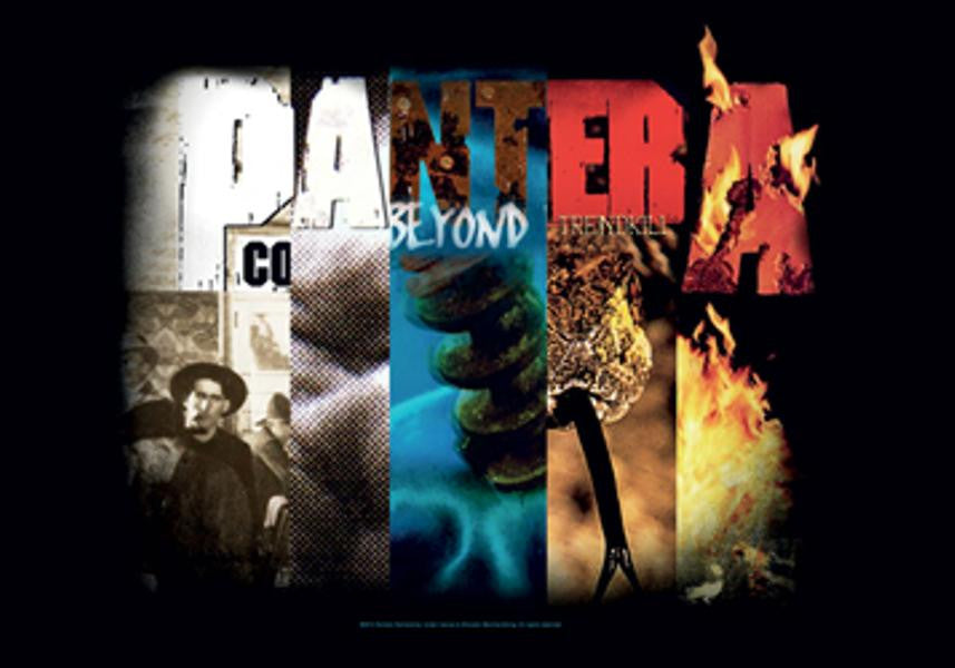 Pantera Poster Flag Album Collage Tapestry