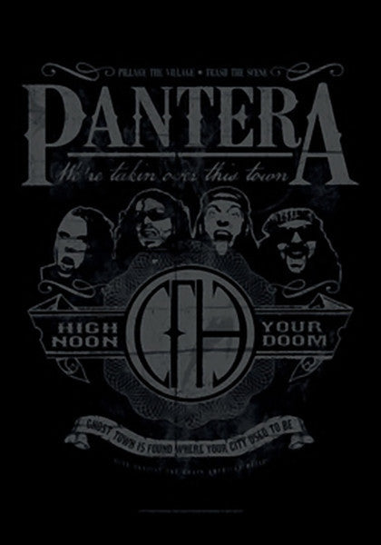 Pantera Poster Flag High Noon Your Doom Tapestry