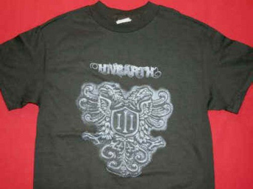 Unearth T-Shirt Shield Logo Black Size Small New