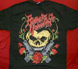 Bullet For My Valentine T-Shirt Heart Skull Black XL