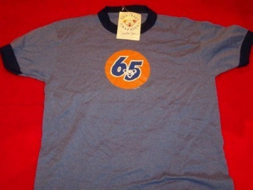 Grateful Dead Ringer T-Shirt Circle 65 Blue Size Youth Large New