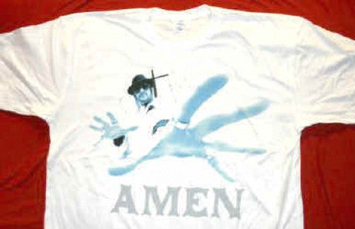 Kid Rock T-Shirt Amen Logo White Size XL New