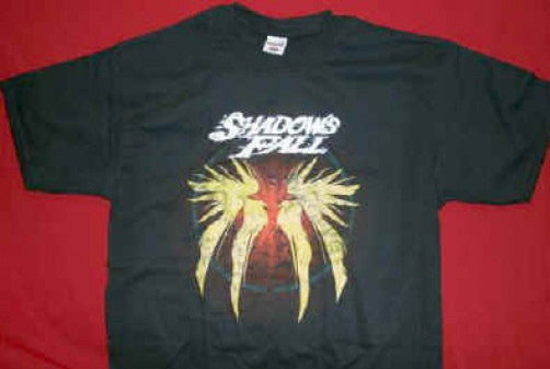 Shadows Fall T-Shirt Baphomet Black Size Small New