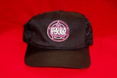 Hoobastank Mesh Trucker Hat Star Logo Black One Size Fits All