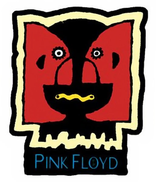 Pink Floyd Iron On Patch Division Bell Logo Rock Band