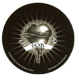 POD Vinyl Sticker Circle Heart Logo