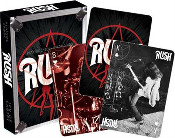 Rush Playing Cards