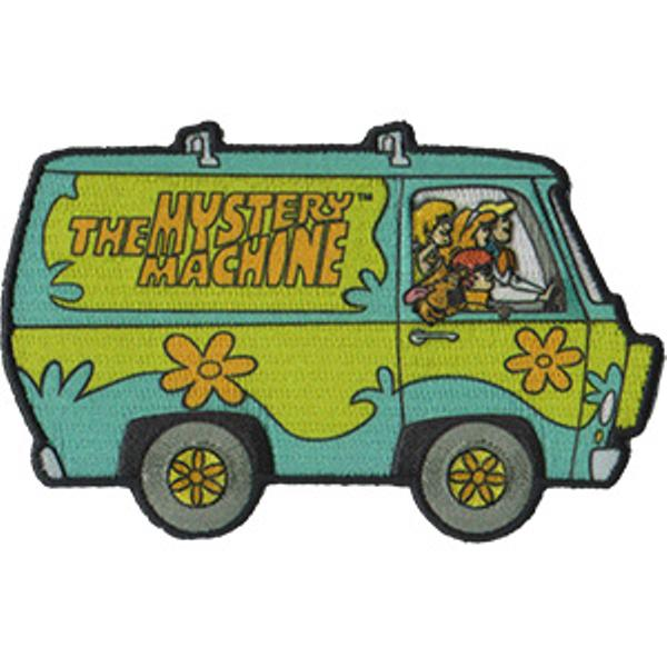 Scooby Doo Iron On Patch Mystery Machine Van Logo Rock
