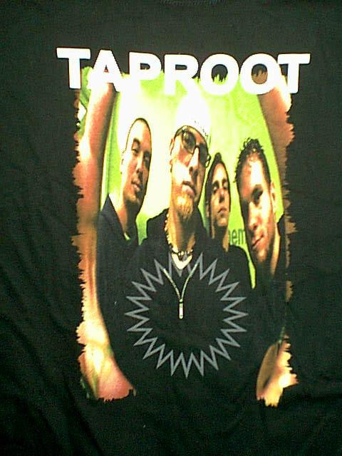 Taproot T-Shirt Welcome Logo Black Size Medium New