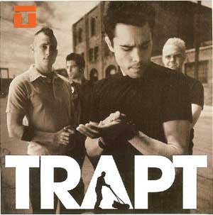 Trapt Vinyl Sticker Band Photo Logo