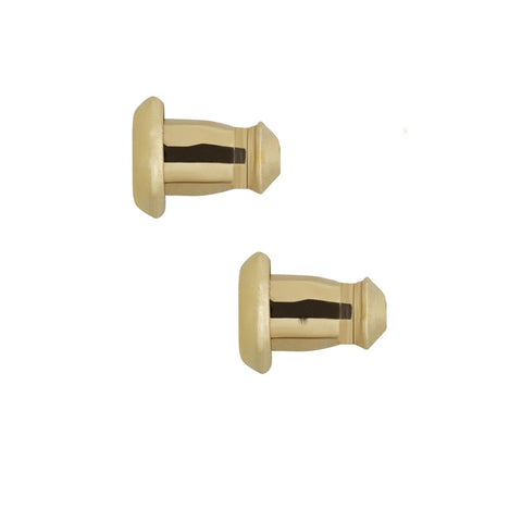 LuxLock World's most secure USA Patented Replacement Earring Back in 14k Yellow (Patent # US8365369), earring back, JewelMORE.com  - JewelMORE.com