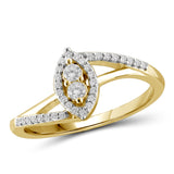 "I Love Us™ Two-Stone Ring 1/5ct tw Diamonds 14K White Gold or Yellow Gold  ""My Best friend is My true love™"", SALE, JewelMORE.com  - JewelMORE.com"