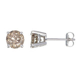1/10ct 14k Gold Color Diamond Stud Earrings (Available in 7 color), SALE, JewelMORE.com  - JewelMORE.com