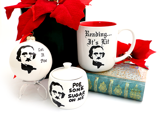 Gifts for Readers that won't leave you Poe!