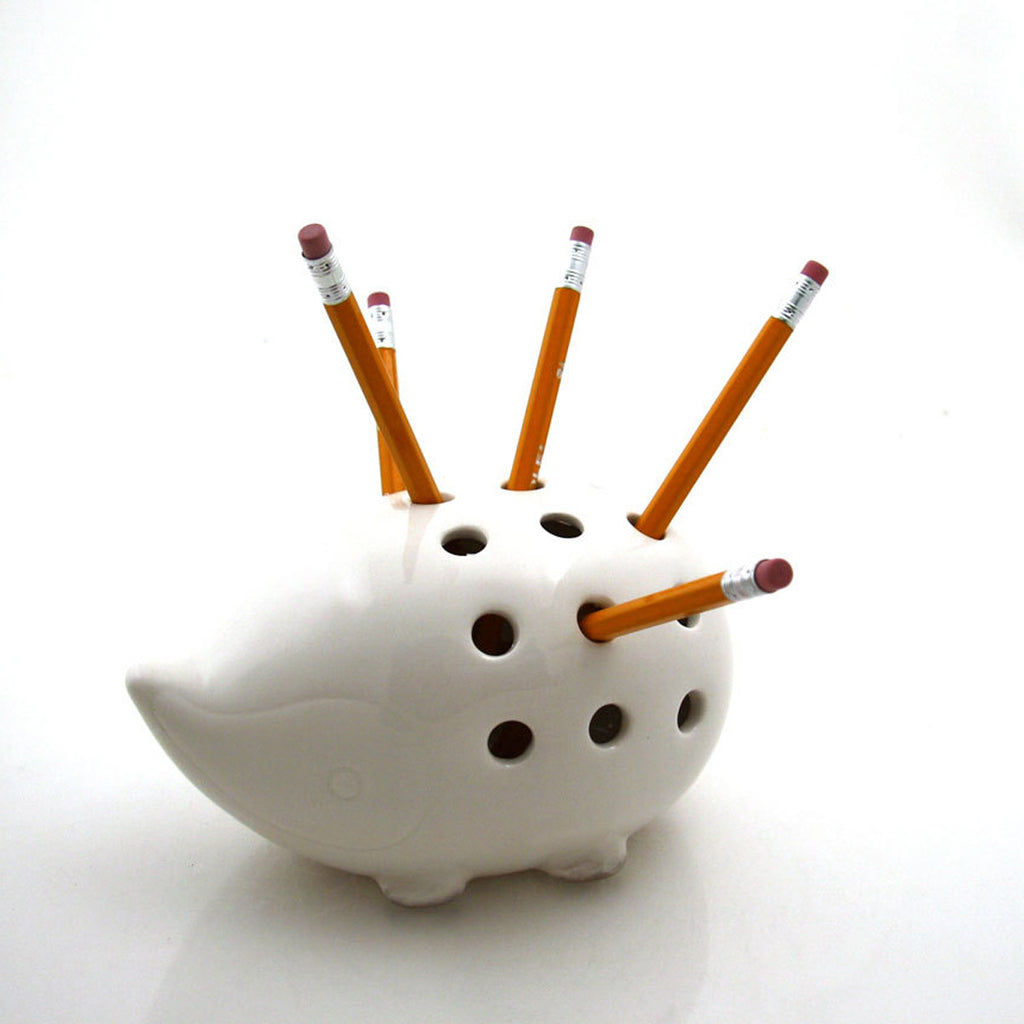 Perfect gift for a woodland animal lover-- this handmade ceramic porcupine or hedgehog (i'm a city