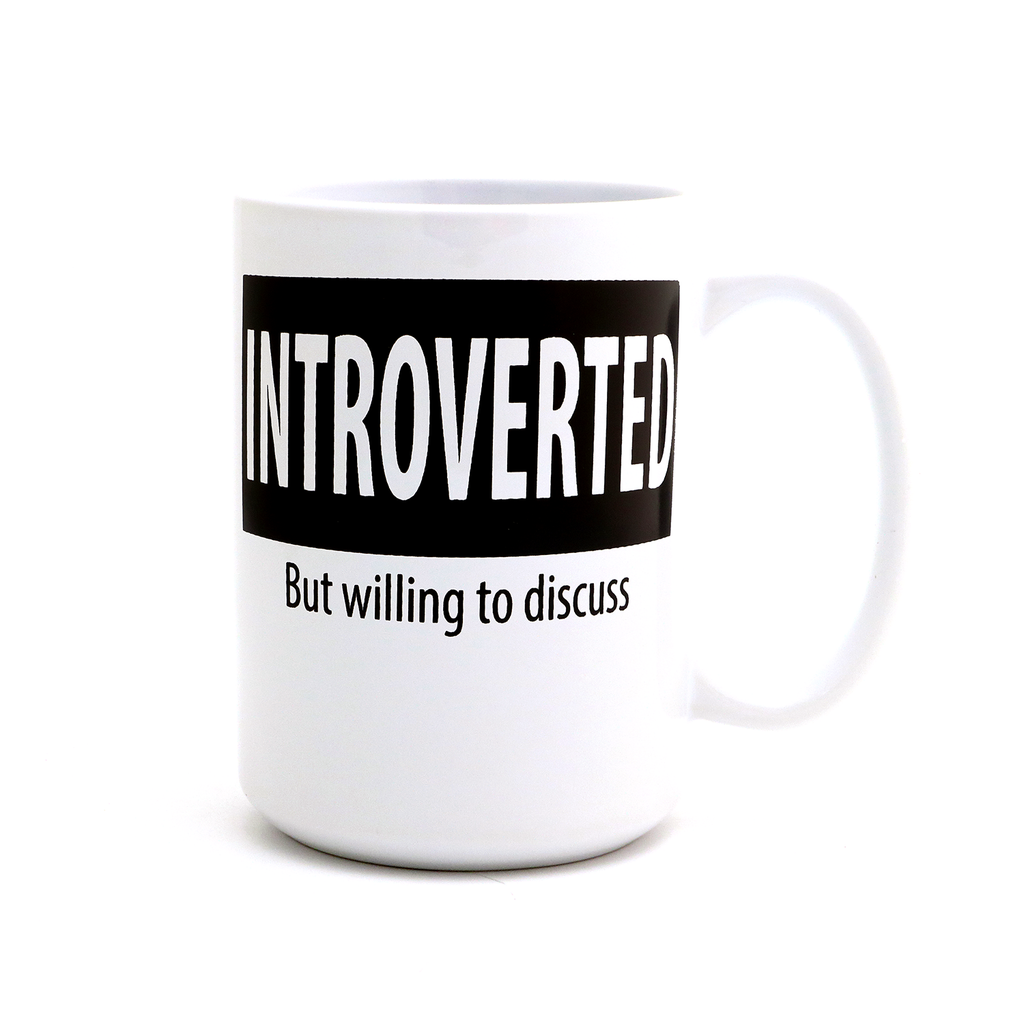 Personalized Introverted Mug