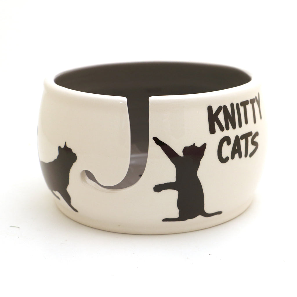 Knitty Cats Yarn Bowl